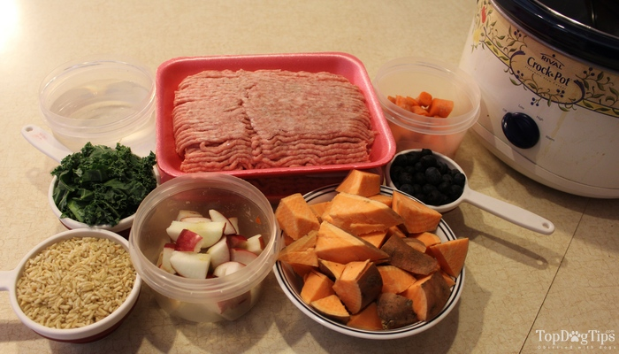 Beef-and-Pork-Crock-Pot-Dog-Food-Recipe 1